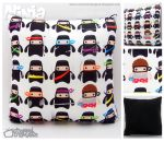 Ninja 'Casual Friday' Pillow by ChannelChangers