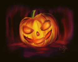 Halloween Pumpkin by guto-strife-1