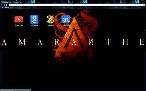 Amaranthe Orange by bandchromethemes