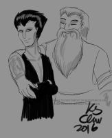 RoTG Month day 6 - OTP/BroTP by ks-claw