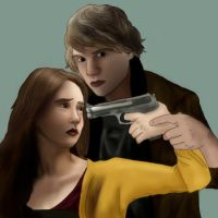 Tate x Violet: AMERICAN HORROR STORY by BLOOD-and-LUST-87