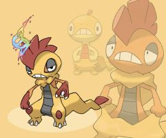 MEGA SCRAFTY (fan made) by delgalessio