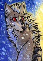 ACEO SaQe by CanisAlbus