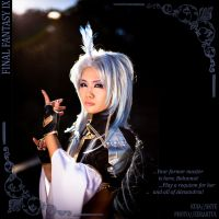 FFIX Kuja: Peacock King by Astellecia