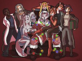 Merry Christmas from the RC Gang and Polycomical by littlesusie2006