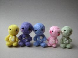 Little Felt Friends by michelleness