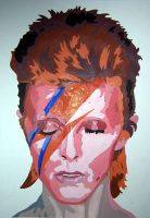 DAVID BOWIE PAINT BY NUMBER by jezzy