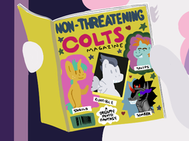Non-Threatening Colts by Elslowmo