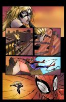 spiderman vs Ms Marvel page 9 by SiriusSteve
