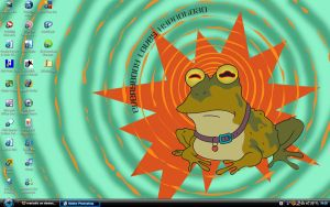 Hypnotoad Desktop by marballz