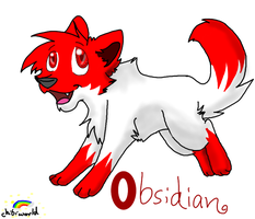 Chibiworld: Obsidian by Obsidianthewolf