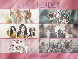 PSD HEADER PACK by Tekmile