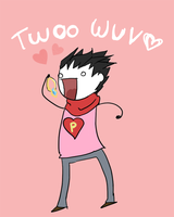 Twoo Wuv by Pankster