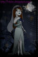 corpse bride vanessa by t-lider