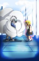 Zeno and Zatch by Keepinitrl