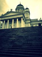 Helsinki Cathedral by grigant