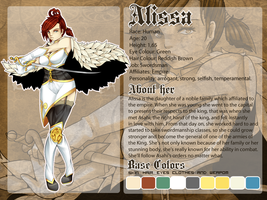 OC. Ref: Alissa by Dark-Arya