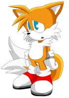 Tails - Battle - PAINTED by LuckyHRE