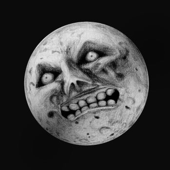 Scary Moon by carpenocturne