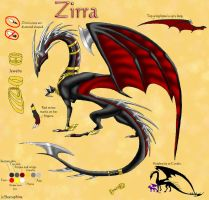 Zirra Reference Sheet by Seeraphine