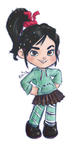 Vanellope by Chaowzee