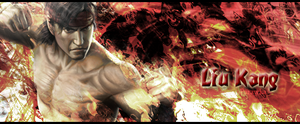 Liu Kang on Fire by ParawkaSaiyan64