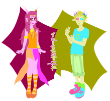 Feferi, Sollux: Be Tricksters by Eganov