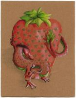 Strawberry Dragon by Lucky101212