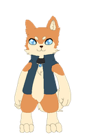 Iku The Diamond Dog :open for rp: by kittenAX