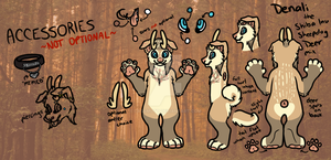 [COMMISSION] Denali Reference Sheet by CassMutt