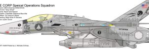 VMFA-531 Gray Ghost. Macross by Broadshore