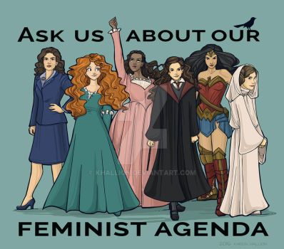 Feminist Agenda by khallion