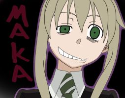 Crazy Maka by Rand0mCha0s999