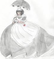 Japanese Maid Princess 2 by Aquateen510