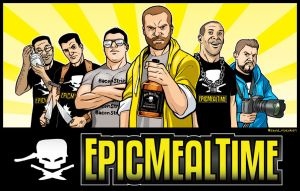 Epic Meal Time! by Azad-Injejikian