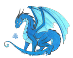 The Blue Dragos by CyphonFiction