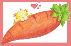 I Heart Carrot by bchan