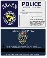 S.T.A.R.S.  ID card by crystal-studio