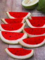 Strawberry-watermelon Impostor Slices by theresahelmer