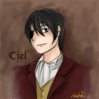 Ciel Phantomhive by jangstitch