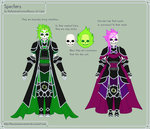 Specters Sheet by theRainbowOverlord