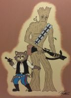 Guardians of the Galaxy Star Wars Crossover by NoahSturm