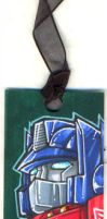 TF - Optimus Prime Bookmark by plantman-exe