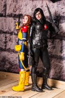 Scarlett and The Baroness 1 by Insane-Pencil