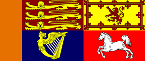 Royal Standard of the UK by lamnay