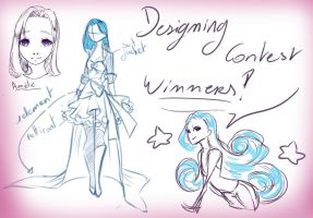 Designing Contest winners ! UPDATED by rika-dono