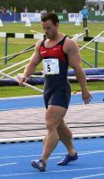 Track Athlete 33 by Stonepiler