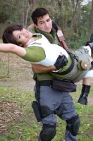 Chris Redfield Rescue Service by Neckbreaker