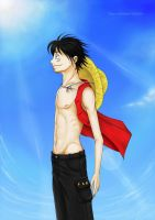Monkey D. Luffy by TaiyoHisakawa