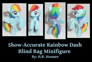 Show-Accurate Rainbow Dash Blind Bag by Gryphyn-Bloodheart